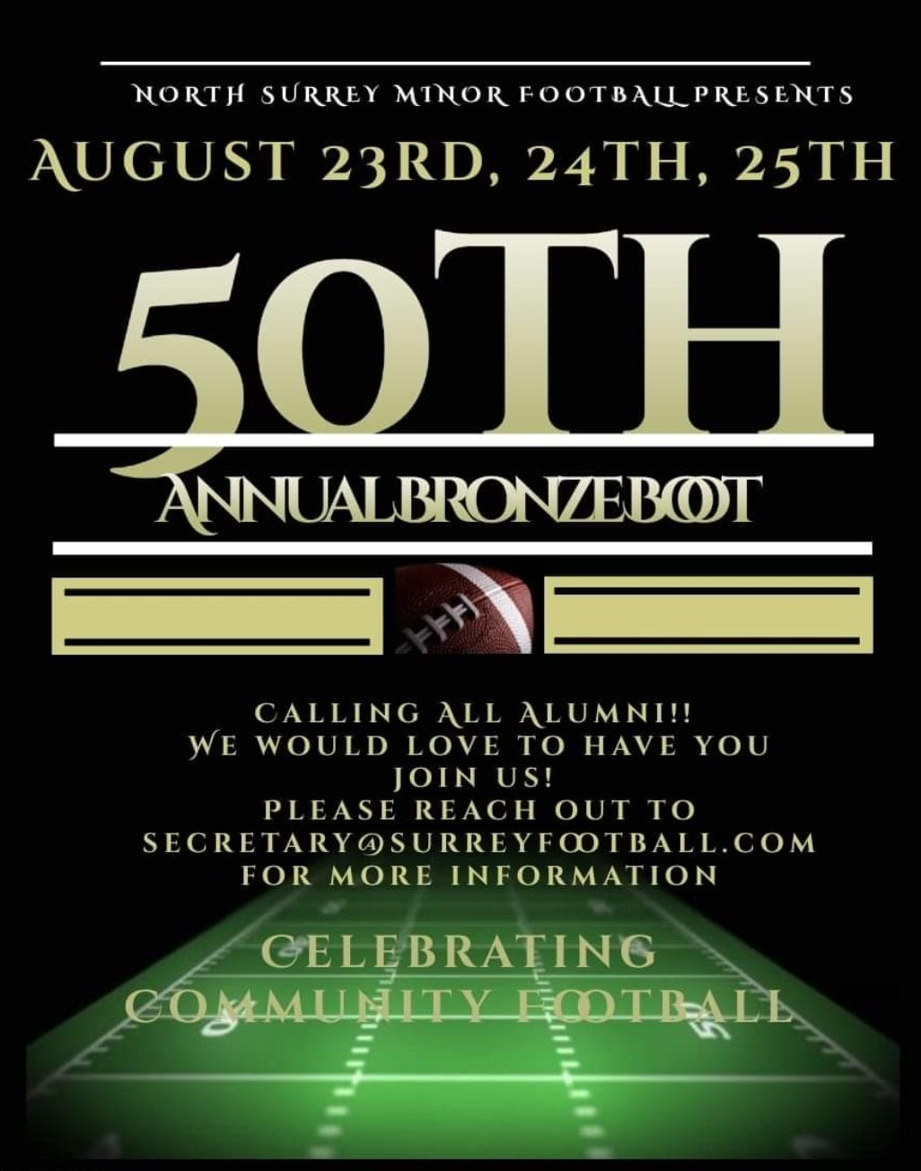 50th annual bronze boot