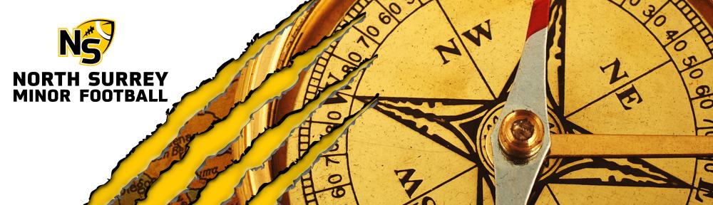 Banner Header compass