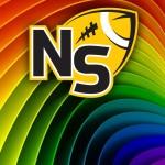 Logo on Rainbow Paper