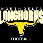North Delta longhorns logo