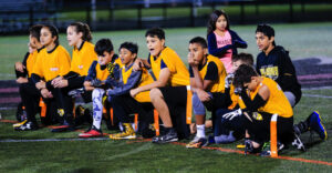Tigers take a knee