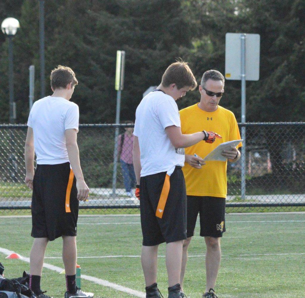 U19 Bears strategizing