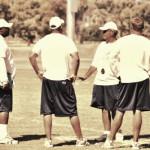 Coaches Talking