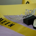Cheer Pageant ribbon and tiara